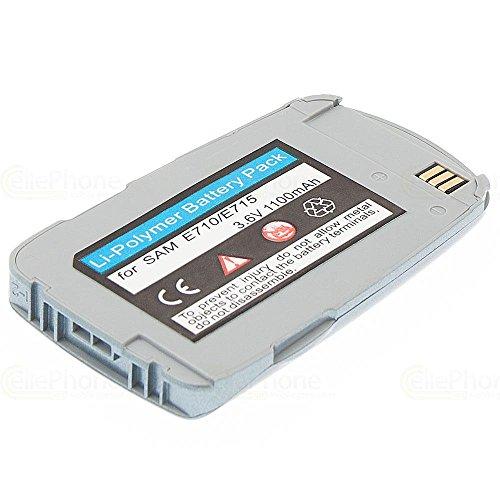 cellePhone PolarCell Akku Li-Polymer für Samsung SGH-E710 E715 - anthrazit ( ersetzt BST2069SE / BST2069DE )
