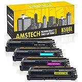 Amstech 4Pack Compatible K506L 506L for Samsung CLP-680 CLX 6260 6260ND 6260FW CLX-6260ND CLX-6260FW CLP680ND CLP-680ND CLP-680DW CLP680 CLX6260 Toner CLT-K506L CLT-C506L CLT-M506L CLT-Y506L
