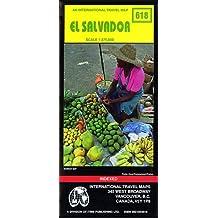 Carte routière : Le Salvador