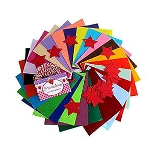 """Ausverkauf SALE Adventskalender Set Nähpaket für Hobby – Näher""""Bunte Unis"""". 24 Säckchenzuschnitte in 24 Farben mit Kordel mit Anhänger. Nähprojekt mit Anleitung. SALE"""