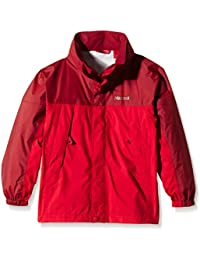 Marmot Regenjacke Precip - Chubasquero para niño, color rojo, talla S