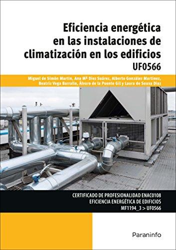 Portada del libro Eficiencia energética en las instalaciones de climatización en los edificios