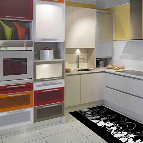 Catral 40020019Teppiche Küche und Flur Katzen, mehrfarbig, 2500x 67x 0.5cm