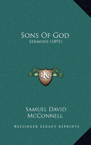 Sons of God: Sermons (1891)
