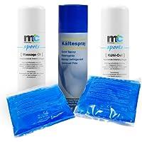 Paket MassageÖl KühlGel Kühl Spray und Kalt-Warmkompressen preisvergleich bei billige-tabletten.eu