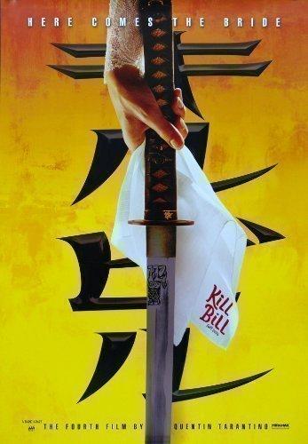 KILL BILL VOLUME UNO con Uma Thurman in Quentin Di Tarantino Classico Moderno Large Poster Del Film