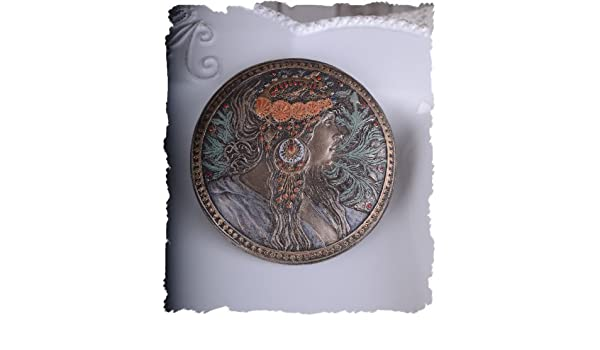 Schmuckdose Muschel Meerjungfrau Schmuckschatulle Deckeldose Deckelschatulle
