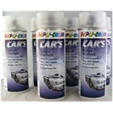 Dupli Color 720352 Car 's Rallye barniz mate 6 latas de aerosol de 400 ml.