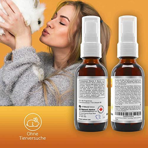 20% Vitamin C Serum • Organic • 60ml • Vitamin E Hyaluronic Acid