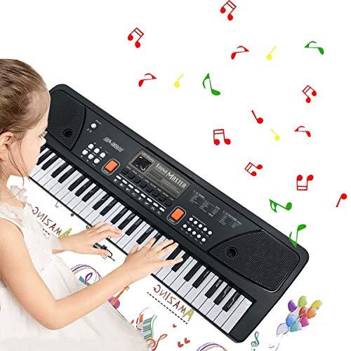 TianYaer Teclado Electrónico Piano 61 Teclas