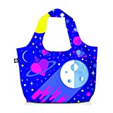 BG Berlin Cosmic Love Faltbeutel Eco Bag lila