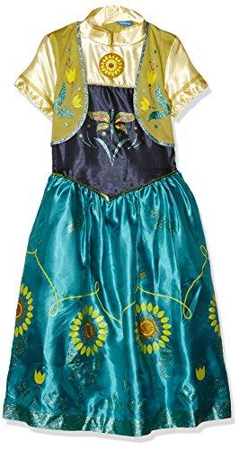 Imagen de rubie's  disfraz anna de frozen para niñas, talla m i 610903m