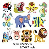 #7: iDream Iron on Patches Animal, Decoration DIY Patch for Jeans Clothing etc (Theme D)