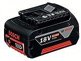 Bosch Professional + EINSCH 1 600 A00 4ZN +GBA 18V Einschub-Akku 6,0Ah, 18 V, Schwarz, Rot