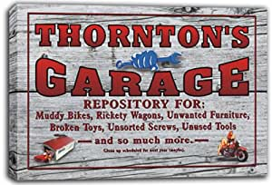 scpp1-1354 THORNTON'S Home Bar Beer-Ale Pub Stretched Canvas Print Sign