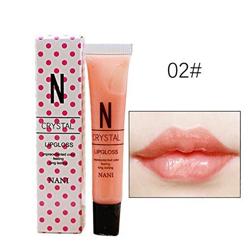 sspendende Glitter Lipgloss Liquid Diamond Lipstick Erstellen Sie attraktive Lippen (# Pink Gelee) (Kinder-halloween-filme In Voller)