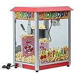 Homgrace Popcornmaschine Popcorn Maker Maschine mit Edelstahl-Topf