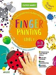 Finger Painting. Level 1: Stickers Inside! Strengthens Fine Motor Skills, Develops Patience, Sparks Conversation, Inspires Cr