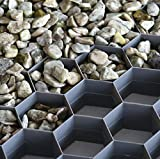 Hamann Kies-Stabilisierungsplatten begehbar - dauerhafte und stabile Splitt / Kies-Oberfläche
