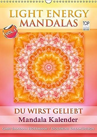 Light Energy Mandalas - Kalender - Vol. 1 (Wandkalender 2017 DIN A3 hoch): Lichtvolle Mandalas mit inspirierenden Seelenbotschaften (Monatskalender, 14 Seiten ) (CALVENDO (Teile Dein Glück)