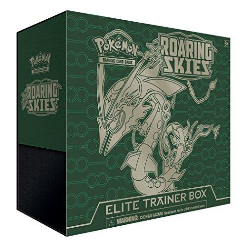 Pokémon - Jeux de Cartes - Produits Spéciaux - Xy Elite Trainer Box - Roaring Skies (ciel Rugissant) Mega Rayquaza