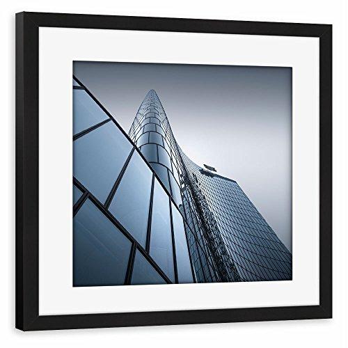 artboxone-poster-mit-rahmen-40x40-cm-geometrie-stadte-stadte-wien-architektur-omv-headquarter-wien-g