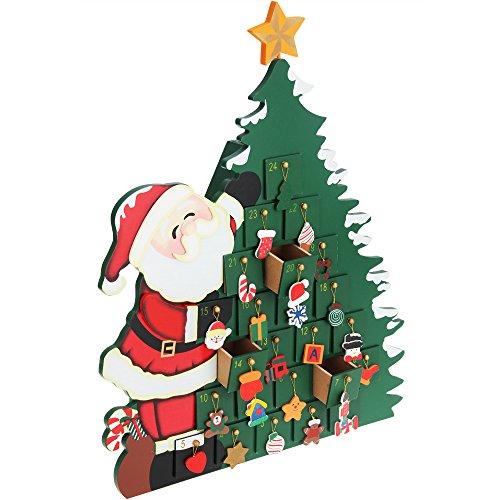 """Adventskalender """"Weihnachtsbaum"""" zum Befüllen"""