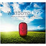 Novodio - Enceinte dédiée MP3 - Novodio WattBomb Air Noir - Enceinte portable Bluetooth avec batterie intégrée