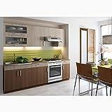 JUSThome Blanka Cucina componibile Cucina Colore: Sonoma Guercia | Canella Acacia