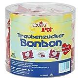 Active Pit Herz Traubenzucker Bonbon inkl. ostalgische Geschenkkarte ALLES GUTE | DDR Artikel und Produkte der DDR | für Ostalgiker und DDRler