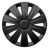 15 Zoll Radzierblenden SNAKE BLACK (Schwarz). Radkappen passend für fast alle FORD wie z.B. Fiesta MK7