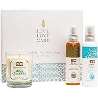 Eq | Geschenkbox - Ocean Call - COSMEBIO®-Siegel gekennzeichnete & von ECOCERT® zertifizierte Naturkosmetik