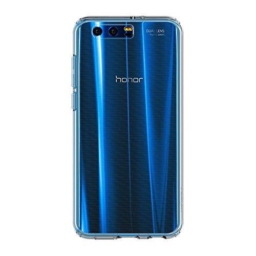 Spigen L17CS21993 Liquid Crystal für Huawei Honor 9 Hülle Soft Flex Silikon Transparent TPU Durchsichtige Schutzhülle Case - Crystal Clear