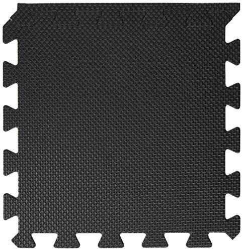 BodenMax Schutzmatten 30 x 30 cm,Puzzlematte Sportmatte Unterlegmatte Gymnastikmatte Fitnessmatten Bodenschutz Mattenstärke: 10-25 mm