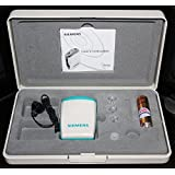 Siemens Amiga Pocket Machine 172 With 1 Extra Wire And 1 Receiver Pack Hearing Aid (White, Blue)