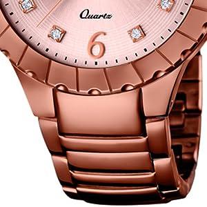 Lotus–Orologio da donna Lotus Trendy Analog Fashion Bracciale in acciaio bronzo orologio al quarzo ul18413/2