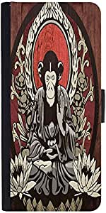 Snoogg Meditating Monkey 2656 Designer Protective Flip Case Cover For Sony Xp...