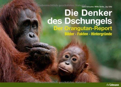 Buchseite und Rezensionen zu 'Die Denker des Dschungels: Der Orangutan-Report. Bilder. Fakten. Hintergründe' von Gerd Schuster