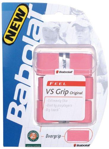 Babolat VS Grip Original pink 3er Overgrip, rosa, One Size