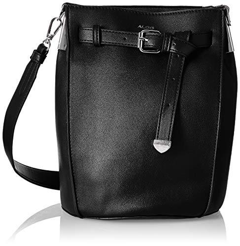 ALDO Women's Handbag (Black Leather)