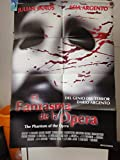 Original Mexican Movie Poster The Phantom Of The Opera El Fantasma De La Opera Dario Argento