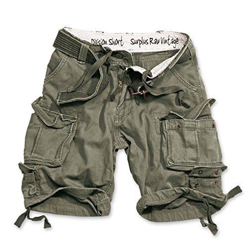 Division Shorts Lightning Edition Oliv - XXL