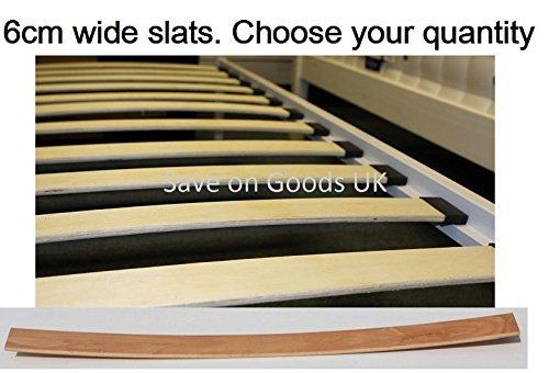 Confezione da 1, 2 o 4 doghe di ricambio curve, con molleggio in ...