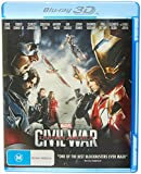 Captain America: Civil War 3D Blu-ray | Region Free