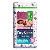 Pantalons Huggies Dry Nites Pyjama pour filles 4-7yrs (10) - Paquet de 6