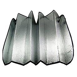 WeiMay anteriore auto parasole parabrezza addensare anti neve gelo Ice Dust Shield parasole per parabrezza pieghevole UV riflettore Protector