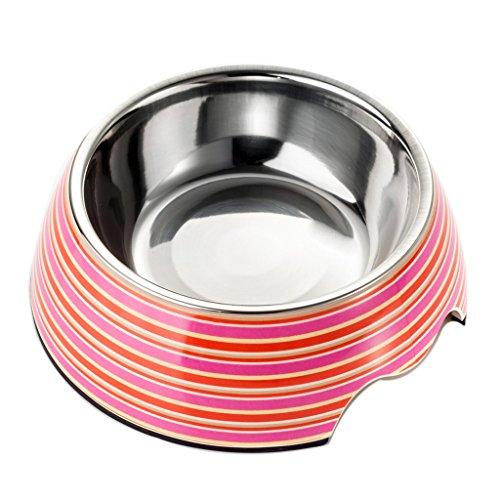 Petlovey Pet Bocce biberon stazione di acqua in acciaio inox ciotola del cane S / M / L