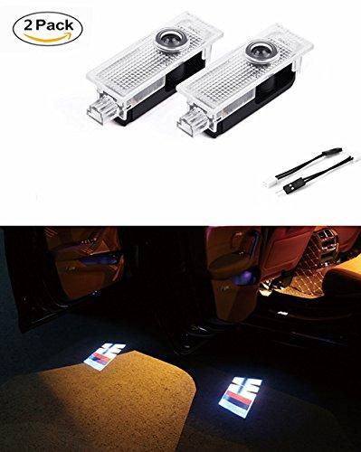 Roter Kristall 2PCS LED Einstiegsbeleuchtung Projektion Car Logo Türbeluchtung für M3