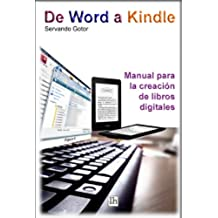 De Word a Kindle. Manual para la creación de libros digitales. (Guías Lh)
