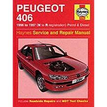 Peugeot 406 Service Repair Manual (Haynes Service and Repair Manuals)